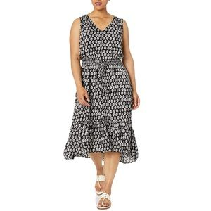 LUCKY BRAND NWT Black 'Felice' Sleeveless Dress 1X